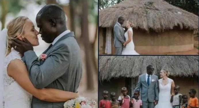 (FOTO) O canadiană s-a căsătorit cu un nigerian cu șapte copii, după ce aсesta a fost abandonat de soția sa din cauza sărăciei