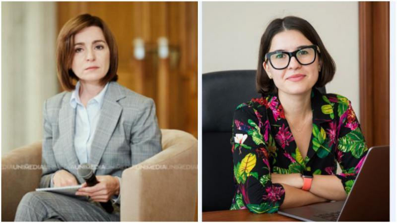 """""""Sacrificiul"""" verișoarelor Maiei Sandu, angajate la Guvern și Parlament"""