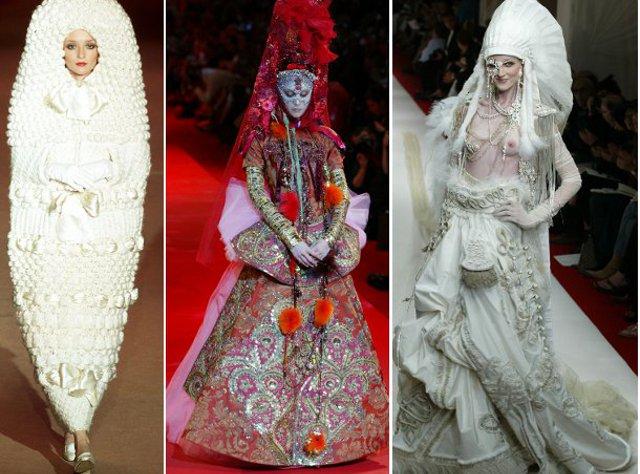(FOTO) Topul celor mai neobișnuite rochii de mireasă