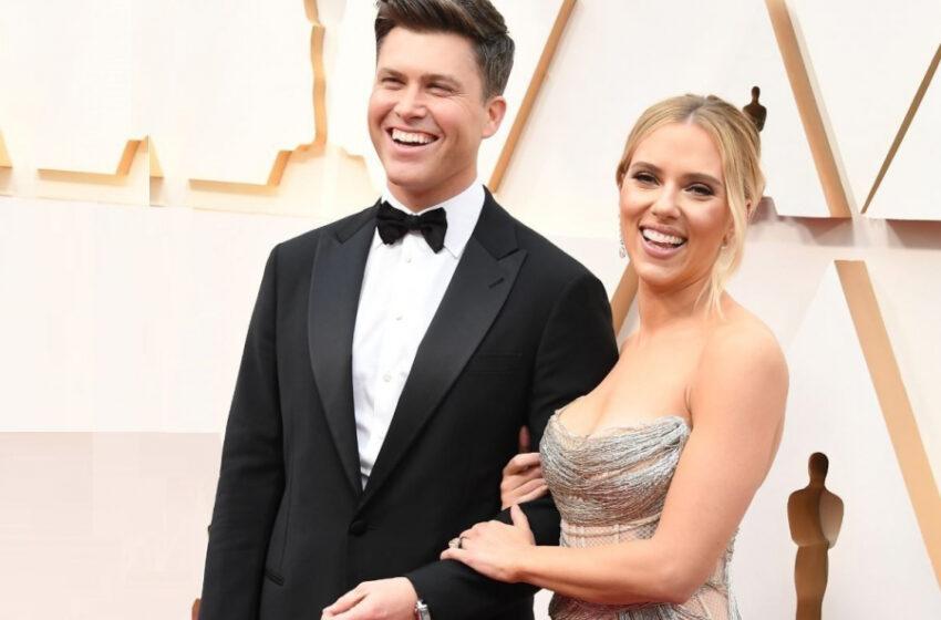 Actrița Scarlett Johansson și Colin Jost au devenit părinți