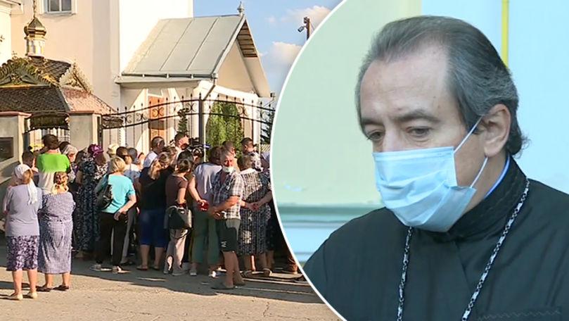 Scandalul de la biserica din Răzeni: Lăcașul are un preot nou
