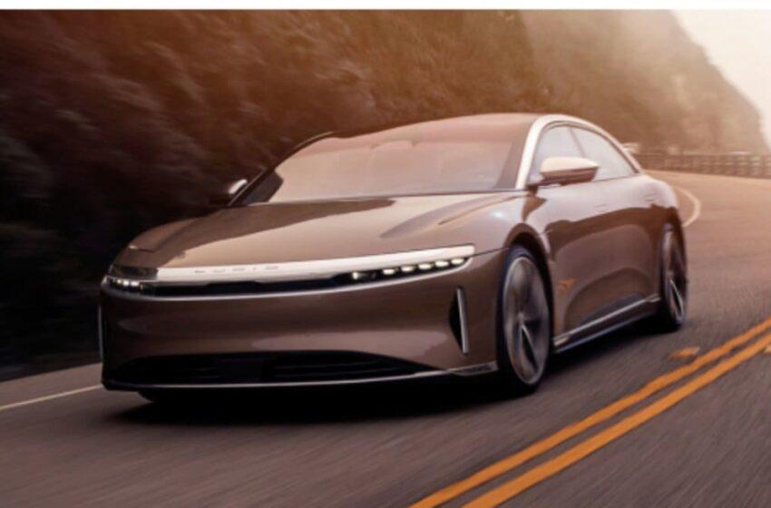 E oficial, Lucid Air e automobilul electric cu cea mai mare autonomie, conform datelor omologate în SUA