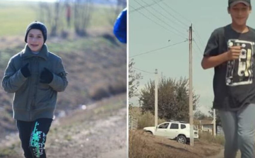 """(VIDEO) """"Visul meu s-a îndeplinit"""": Băiatul care a alergat încălțat în galoși aproape 12 km la Rubicon a primit în dar o casă"""
