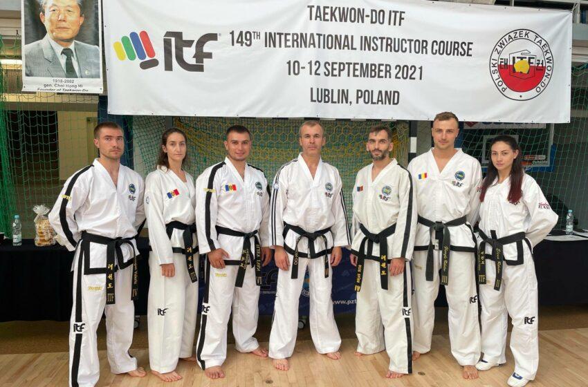 "(FOTO) Antrenorii moldoveni au prezentat țara la un eveniment de amploare ""Taekwon-Do ITF"" la Lublin"