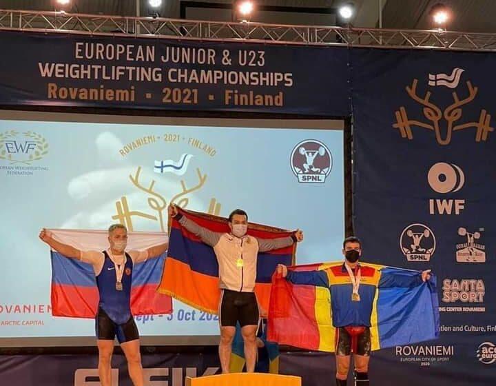 Marin Robu a cucerit două medalii de bronz la Europenele Under 23