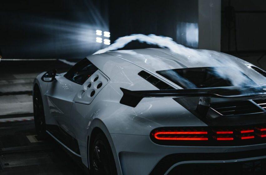 (FOTO) Bugatti Centodieci a fost testat cu brio în tunelul aerodinamic. Vor exista doar 10 exemplare
