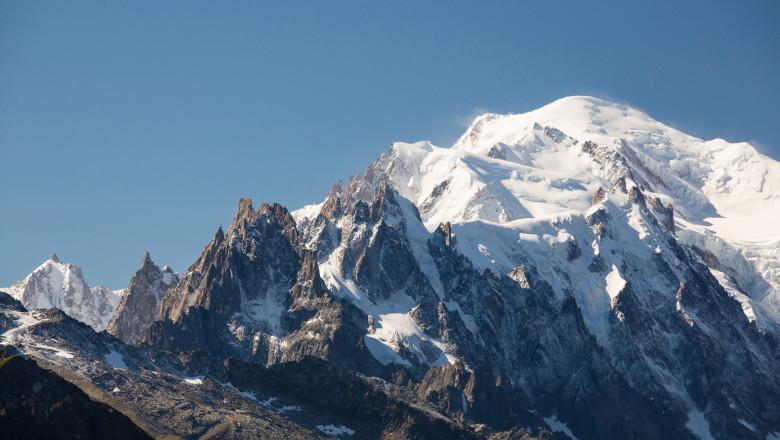 (VIDEO) Mont Blanc a pierdut aproape un metru din înălțime, în ultimii patru ani