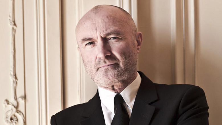 """Phil Collins nu mai poate cânta la tobe: """"Abia mai pot ține un băț cu mâna asta. Într-o oarecare măsură ne apropiem de final"""""""