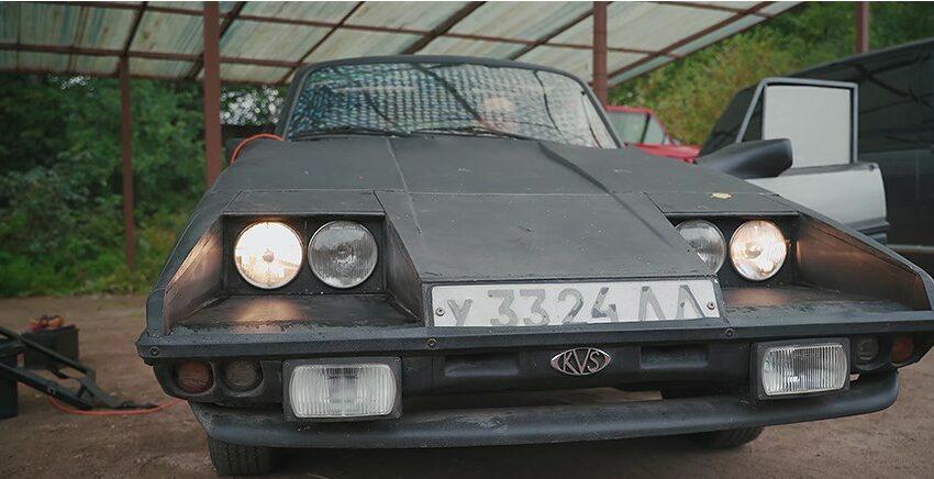 (VIDEO) Acesta e cel mai bizar coupe sportiv, creat în URSS, prin eforturile unui singur inginer