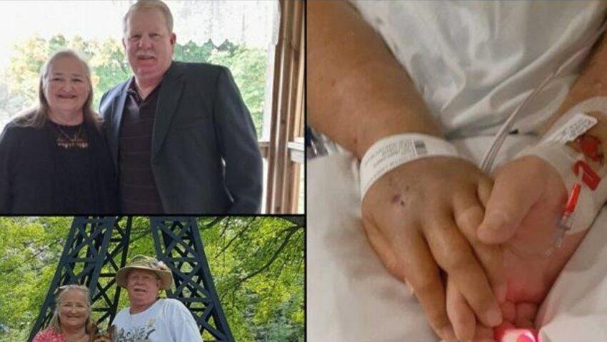Dragoste şi dincolo de moarte: Au murit ţinându-se de mână la doar un minut distanţă unul de celălalt, într-un spital din Statele Unite