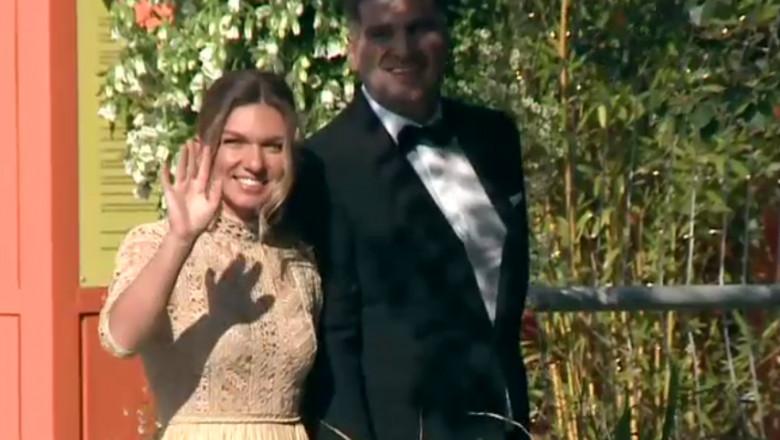 (video) Primele imagini de la căsătoria civilă a Simonei Halep cu Toni Iuruc