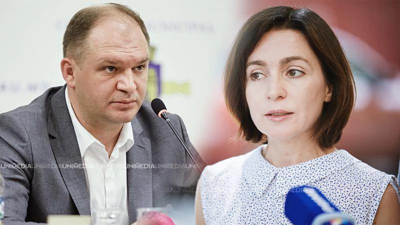 """Maia Sandu, despre """"anularea lui Ceban privind profesorii nevaccinați"""": Decizia primarului nu are vreo valoare"""