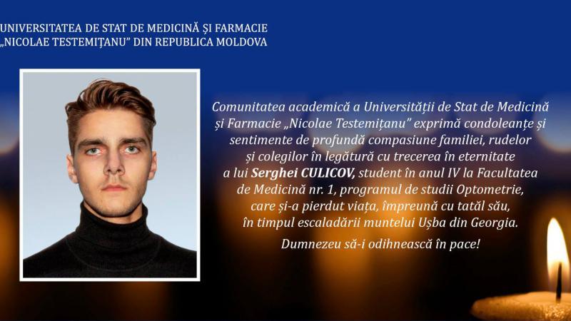 Viitor medic, pasionat de alpinism: Tânărul, găsit mort în munții din Georgia, era student la medicină