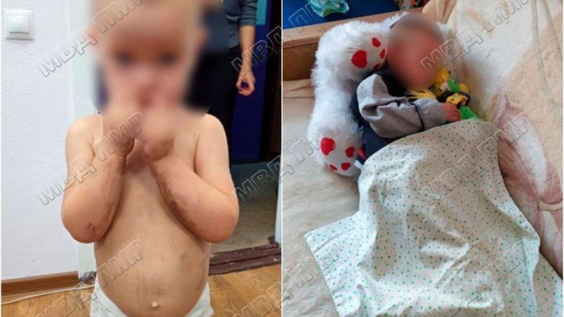 Un copilaș de doi ani, dezbrăcat, murdar și flămând, rătăcea pe străzi la Tighina. Unde era mama acestuia