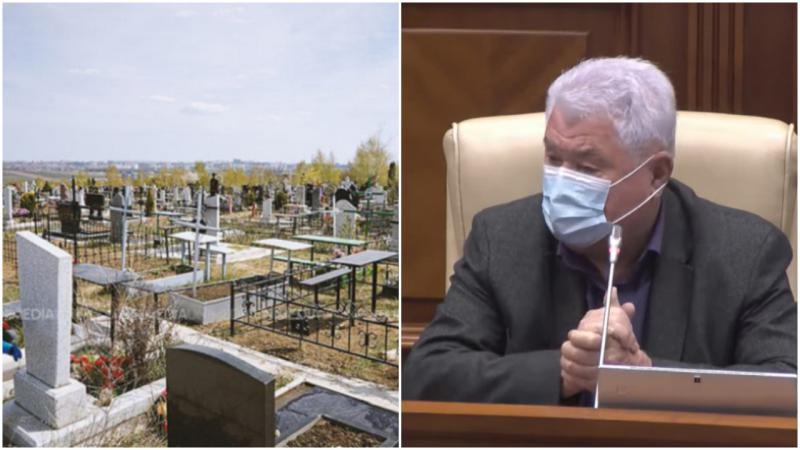 """Voronin, îndurerat:  A mers la 3 înmormântări în această săptămână: """"Acolo e conveier, dar noi aici lea, lea, lea"""""""