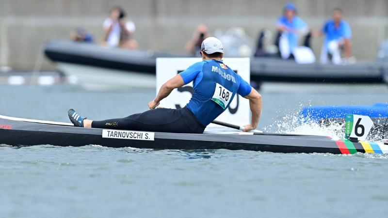 A lăsat în urmă oponenții: Canoistul moldovean Serghei Tarnovschi a trecut în proba finală la Mondialul de canoe