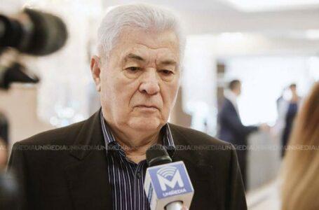 (stop cadru) Voronin: Tot timpul dau cu oiștea-n gard moldovenii noștri, apoi bocesc
