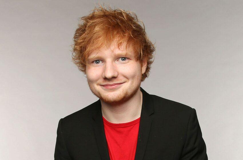 Ed Sheeran, desemnat bărbatul anului în muzică 2021