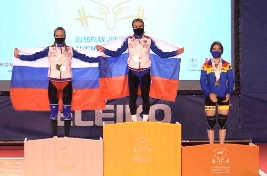 Halterofila Concordia Butnari a urcat pe podium la Europenele U23