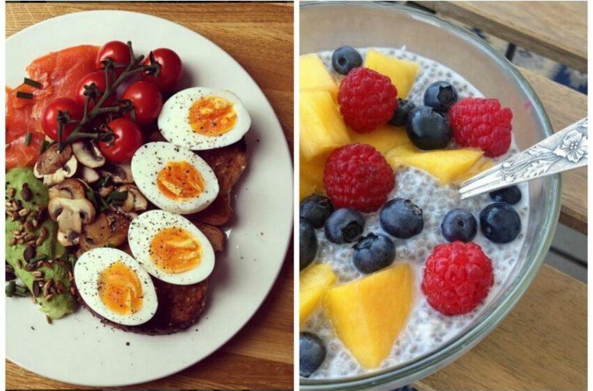 Idei pentru un mic dejun sănătos. Ce să mănânci dimineața