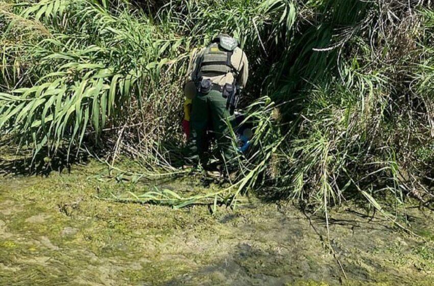 """(FOTO) O fetiță de 2 ani şi fratele ei de 3 luni au fost abandonaţi de traficanții, pe malul unui râu din Texas: """"Este sfâșietor și frustrant, un act de disperare"""""""