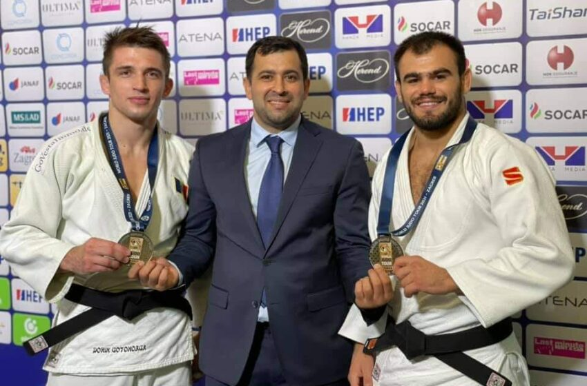 Alți doi judocani moldoveni au urcat pe podium la Grand Prix-ul de la Zagreb