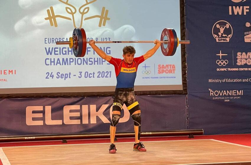 Încă o victorie pentru Daniel Lungu! Halterofilul a cucerit două medalii la Europenele Under 23