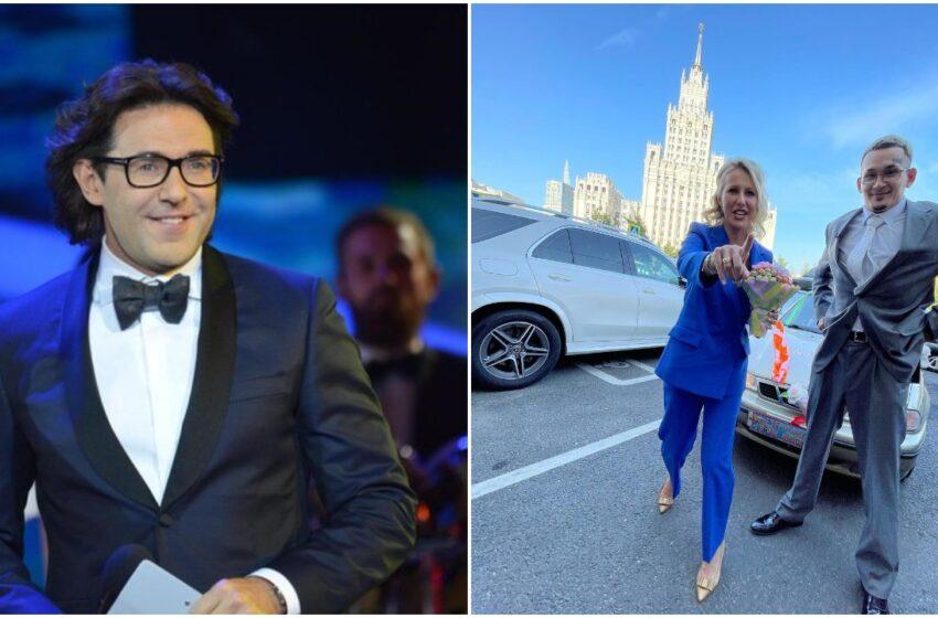 """Andrey Malakhov: """"Am fost surprins că Sobchak i-a moderat nunta lui Morgenstern. El doar și-a șters picioarele de ea """""""