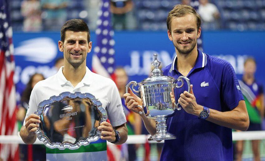 Daniil Medvedev l-a învins pe Novak Djokovic, numărul 1 mondial, în finala turneului US Open