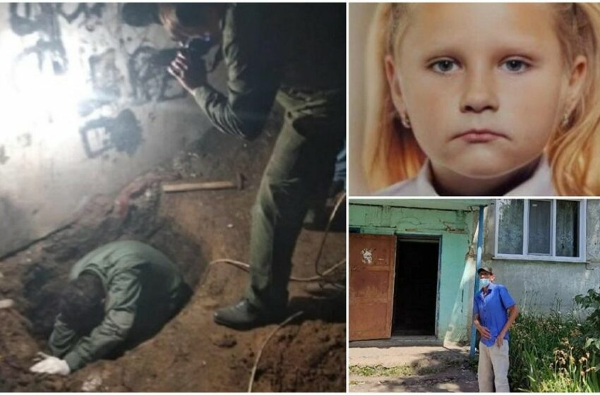 (VIDEO) O fetiță de 9 ani a fost găsită moartă, îngropată în subsolul unui bloc, din Rusia