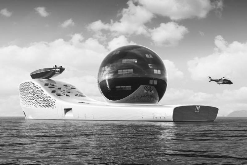 Megayachtul nuclear al Apocalipsei. O arcă a lui Noe destinată exclusiv bogaţilor lumii şi experţilor în schimbări climatice